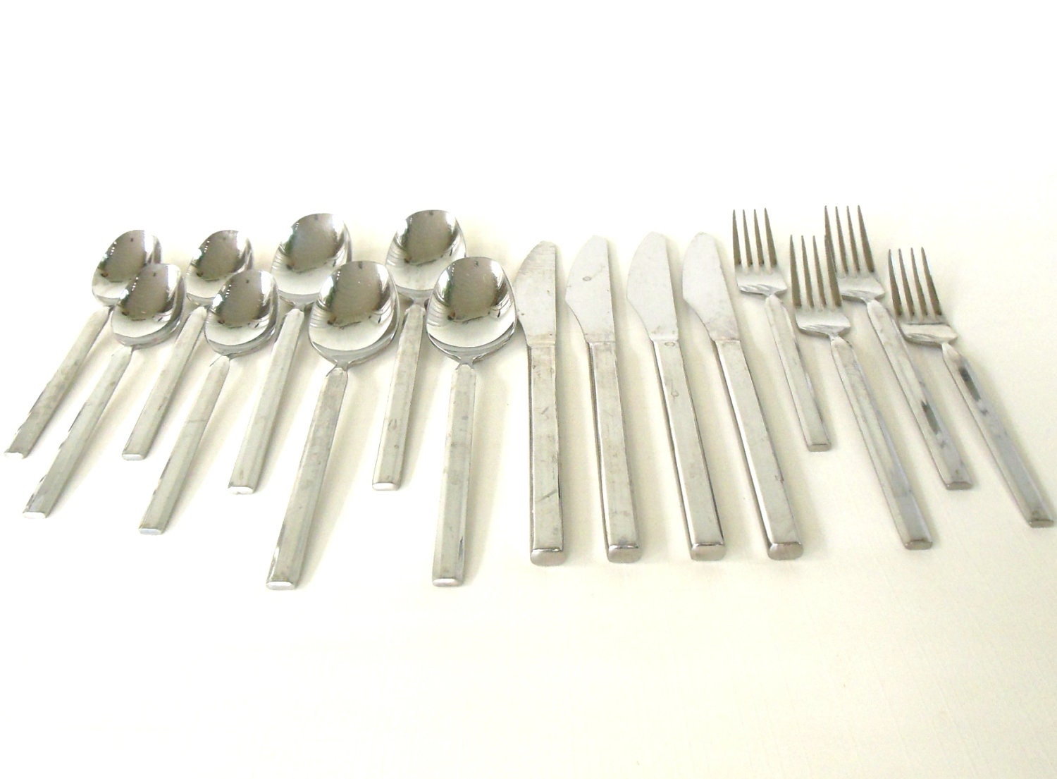 Japanese Flatware Set Retroneu Caravelle Stainless Flatware Set Japan 18 8 As Is