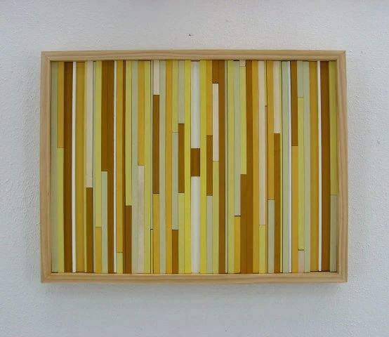 Wood wall art painting sculpture abstract modern texture