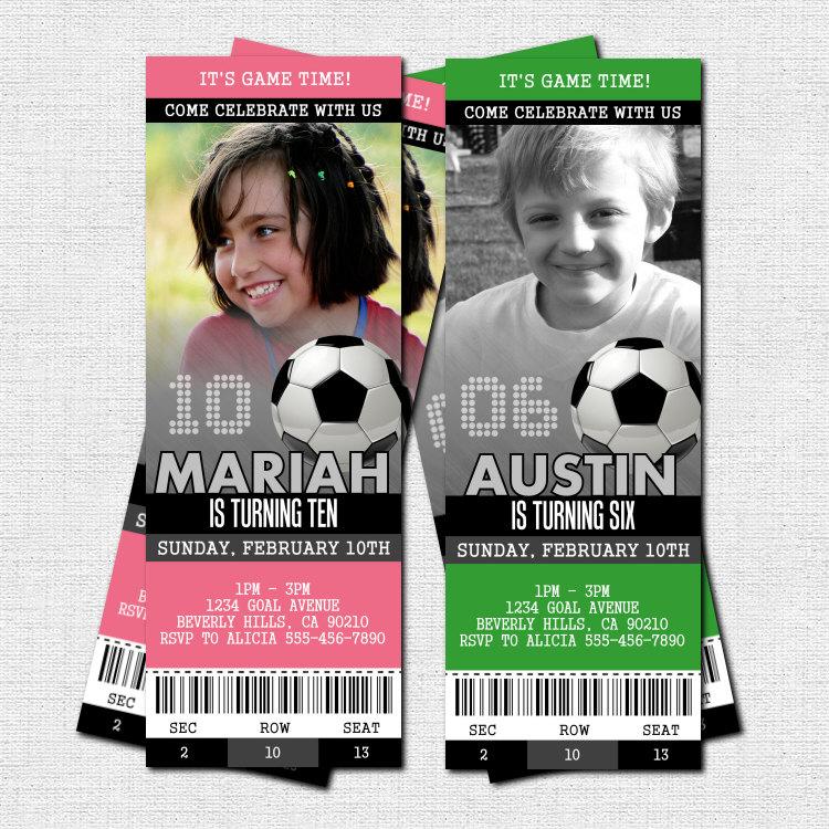 football ticket invitations templates free - party ticket invitations