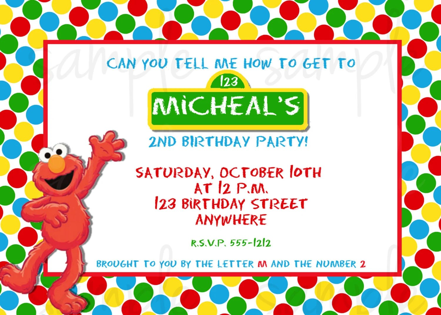 Free Online Birthday Calendars Online Birthday Calendar Template For Free Free Elmo Birthday Invitation