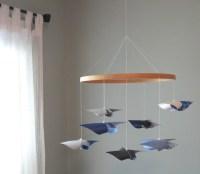 Ceiling Hung Baby Mobile / Nursery Mobile / Crib Mobile / Baby