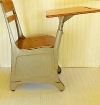 Mid Century Arm Chair Desk Vintage American Desk by ...