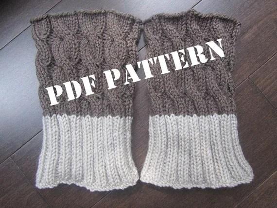 Diy Knit Boot Cuffs Ivoiregion