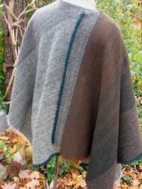 Irish Tweed Wool Shawl Vintage 1970's Traditional by ...