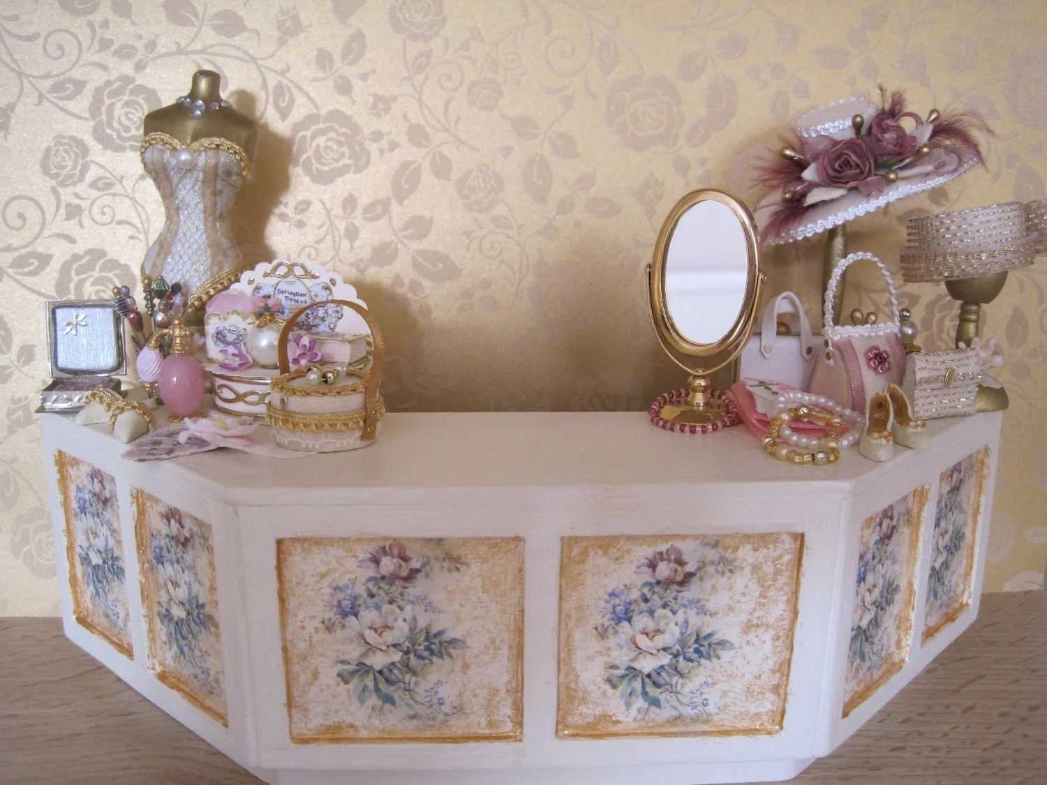 Shabby Chic Shop 12th Scale Dollshouse French Shabby Chic Shop By 12thcouture