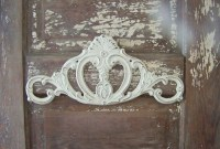 Cast Iron Wall Home Decor-Shabby Chic Scroll Hanging