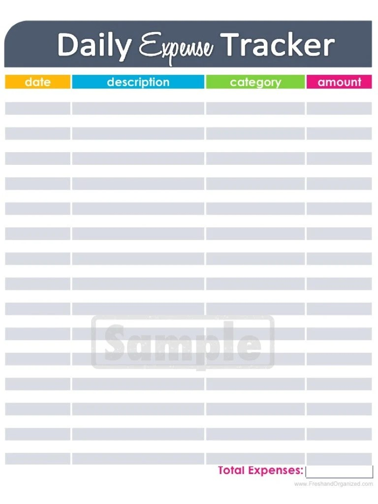 expense tracking template datariouruguay
