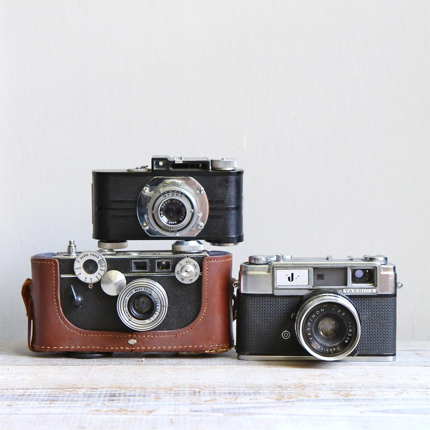 Film Camera Vintage Film Camera Collection 35mm Camera Industrial Decor