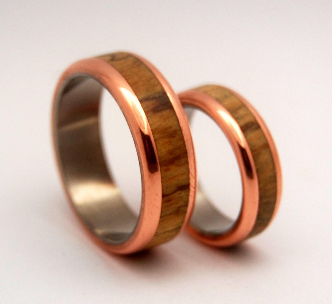 wedding rings titanium rings wood rings mens wooden wedding bands wood rings mens rings Titanium Wedding Bands zoom