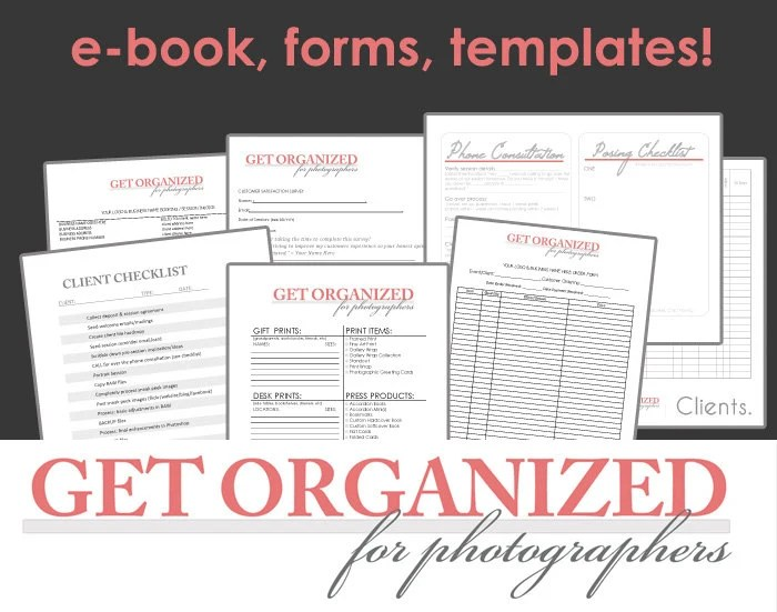 DesignOrganized! Get Organized FOR PHOTOGRAPHERS Photography