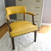 Vintage Executive Desk Arm Chair Mid Century Office Seating