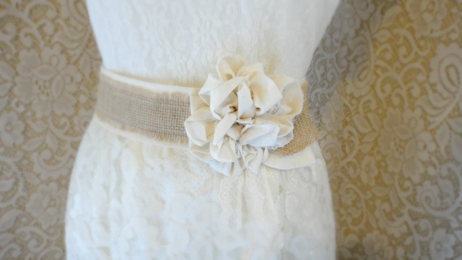 burlap wedding sash wedding sash Burlap Wedding Sash Rustic Southern Barn Wedding Bridesmaid Rustic Chic Burlap Belt Bridal Sash