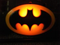 1964 Resin Batman Bat Signal Night Light by Zentronics on Etsy