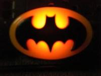 1964 Resin Batman Bat Signal Night Light by Zentronics on Etsy