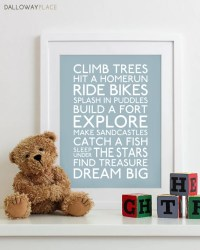 Baby boy nursery decor boy wall art baby boys room boys