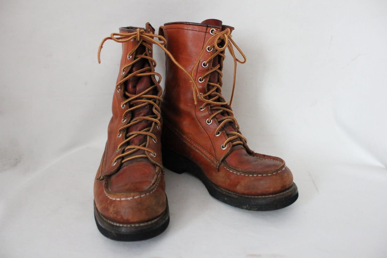 Vintage Eddie Bauer High Top Hiking Boots Women39s 8
