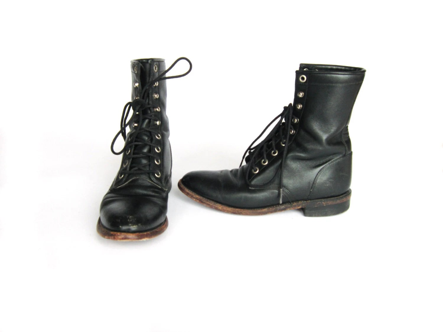 Black Justin Boots Womens With Wonderful Example In Uk