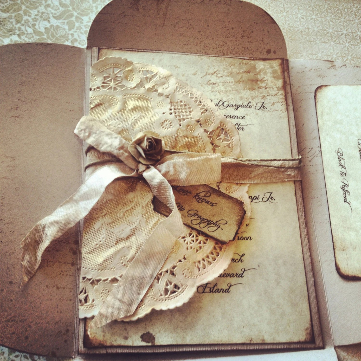 Items Similar To Wedding Invitations Neutral High End