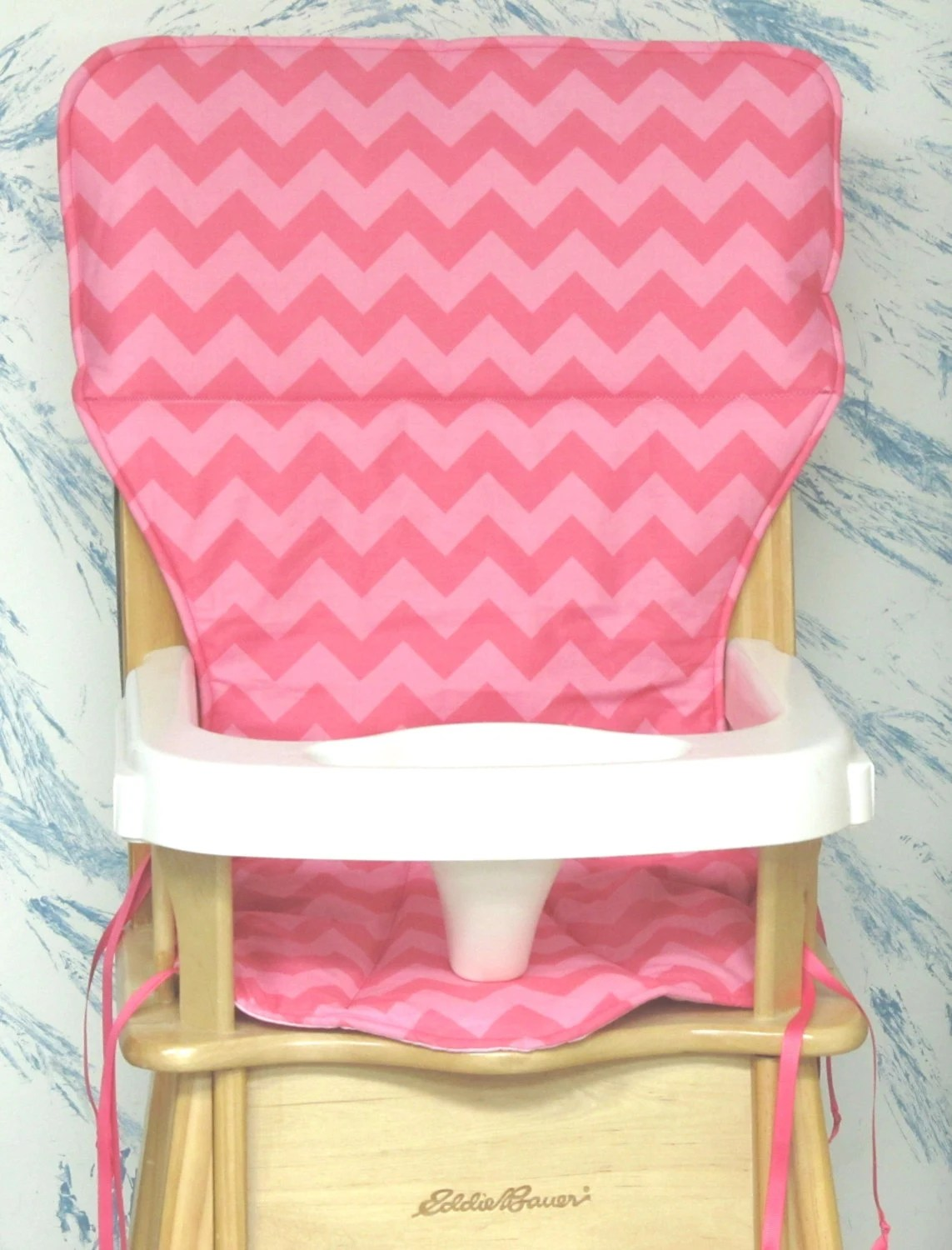 Eddie Bauer High Chair Pad Replacement Coverpink Zigzagtwo