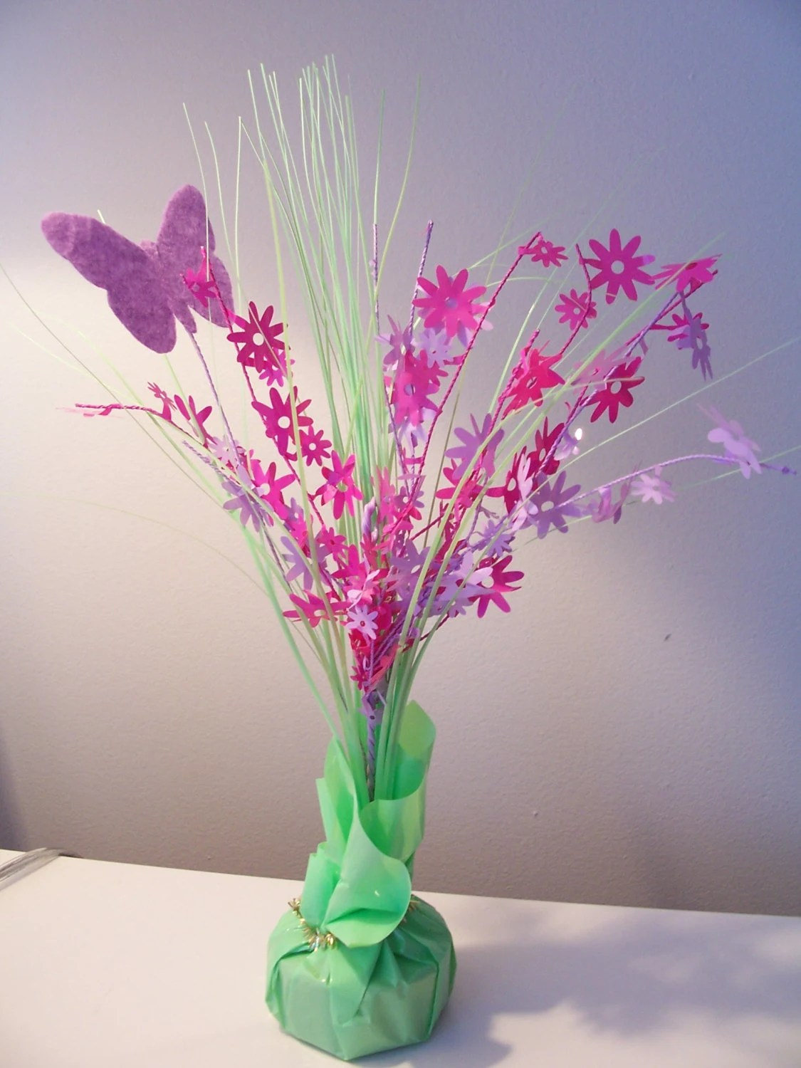 Centros De Mesa Economicos Y Originales Colourful Butterfly Table Center Piece Decoration Balloon