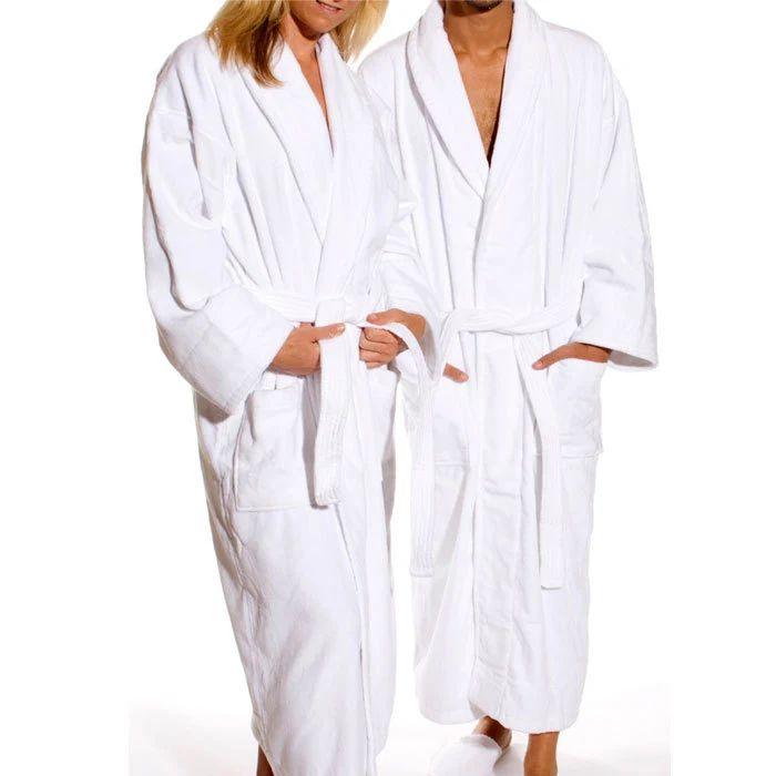 monogrammed plush robes