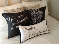 Personalized Wedding Pillows