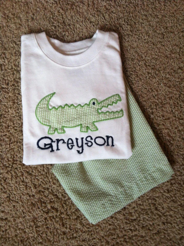 boys monogrammed shirts