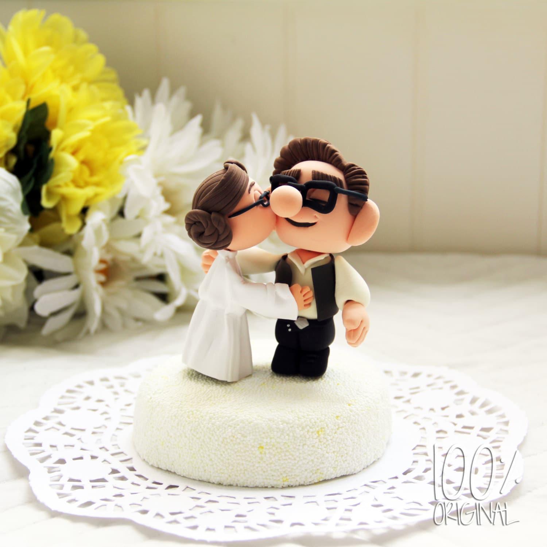 custom wedding cake topper star wars star wars wedding bands zoom
