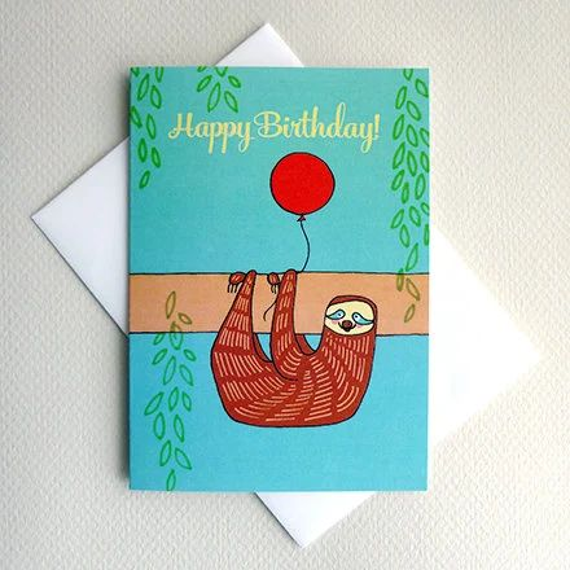 kids birthday card printable