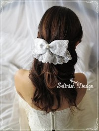 wedding hair bows unavailable listing on etsy