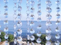 Glass Crystal Strands Glass Crystal Garlands by SparkleSoiree