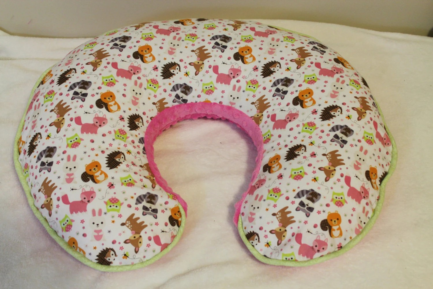 Boppy Pillow Cover Woodland Animals