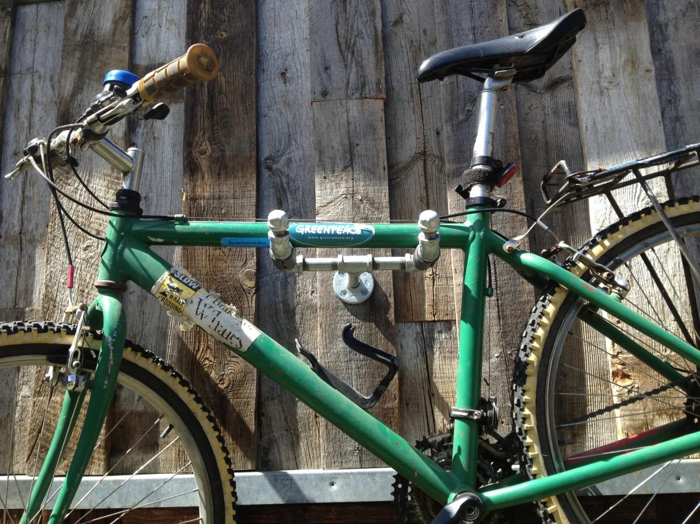 Industrial Iron Pipe Mono 39bike Rack39 Fuji39d