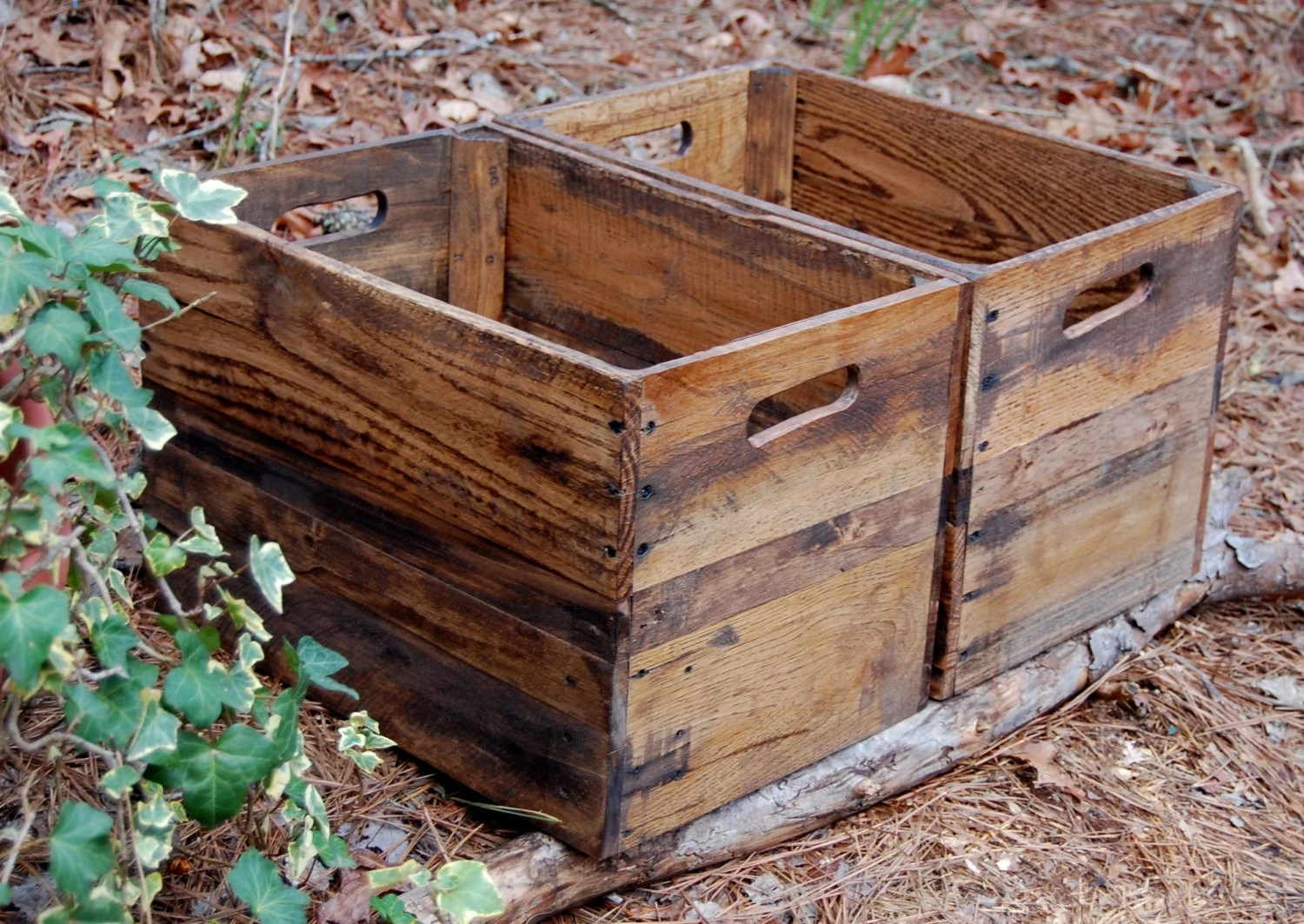 Fruit Bins For Sale Wooden Crates Reclaimed Wood Apple Crates Rustic Crate