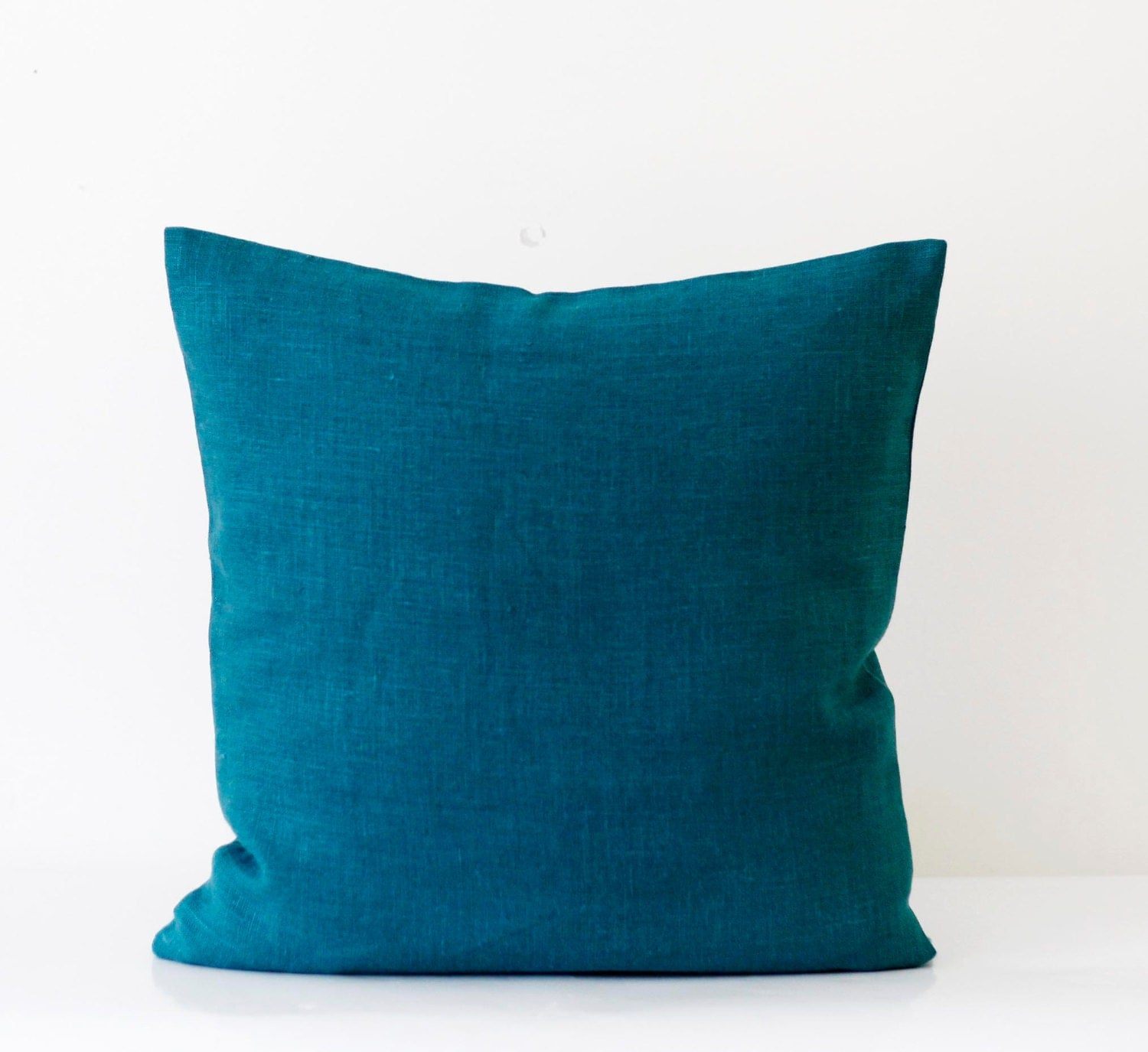 Blaue Kissen Teal Blue Pillow Cover Classic Style Decorative By Pillowlink