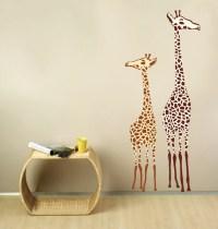 Giraffe Wall Decals FABRIC WALL DECAL