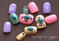Japanese nail art, fake nails, acrylic nails, gel nails ...