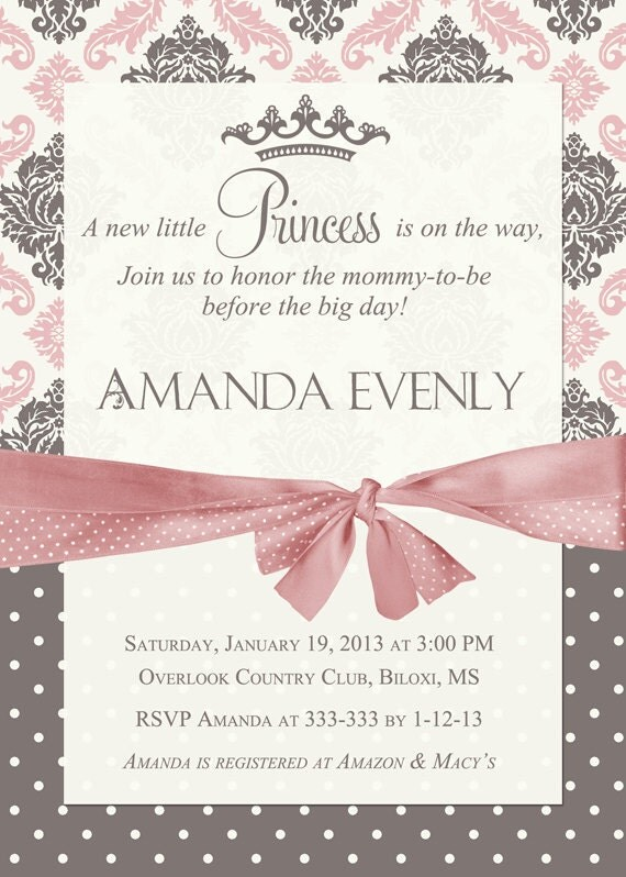 Flowers Floral Photo Baby Shower Invitations Design online - baby shower template