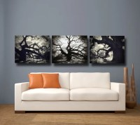 Items similar to Tree Photography Black & White Canvas Art ...