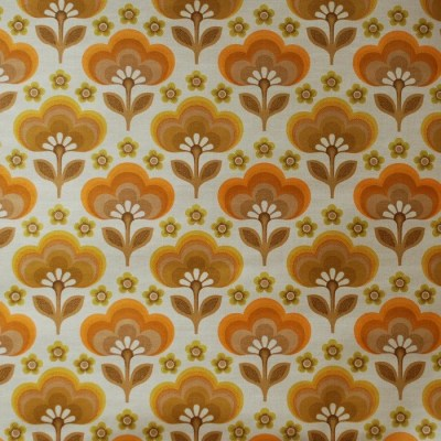 Seventies vintage wallpaper 50 cm.