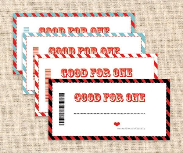 printable blank coupon template - Maggilocustdesign