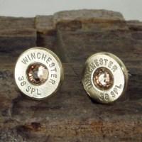 Winchester 38 SPL Bullet Earrings Ultra Thin by ShellsNStuff