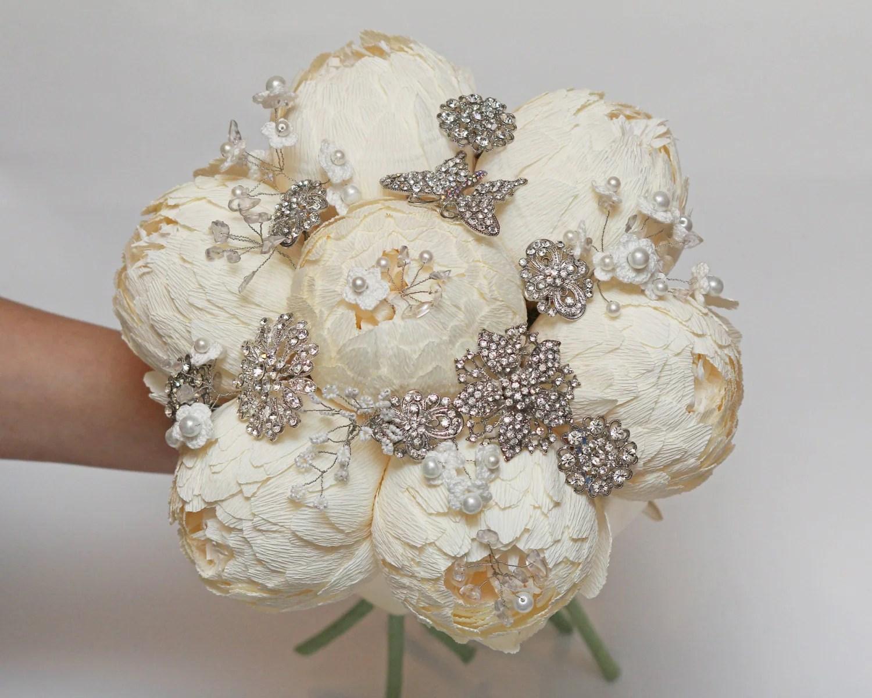 wedding bouquet brooch bouquet bridal wedding flower bouquets bridesmaids bouquets wedding flowers paper zoom
