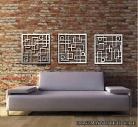 Metal Wall Art Decor Abstract Contemporary by ColdEdgeGallery
