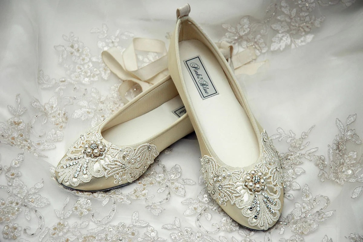 wedding shoes womens bridal shoes ballet wedding sandals for bride zoom