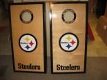 Steelers Corn Hole Boards