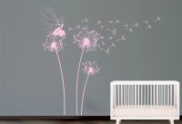 Fairy blowing dandelion Wall Decal. Wall by decoryourwall ...
