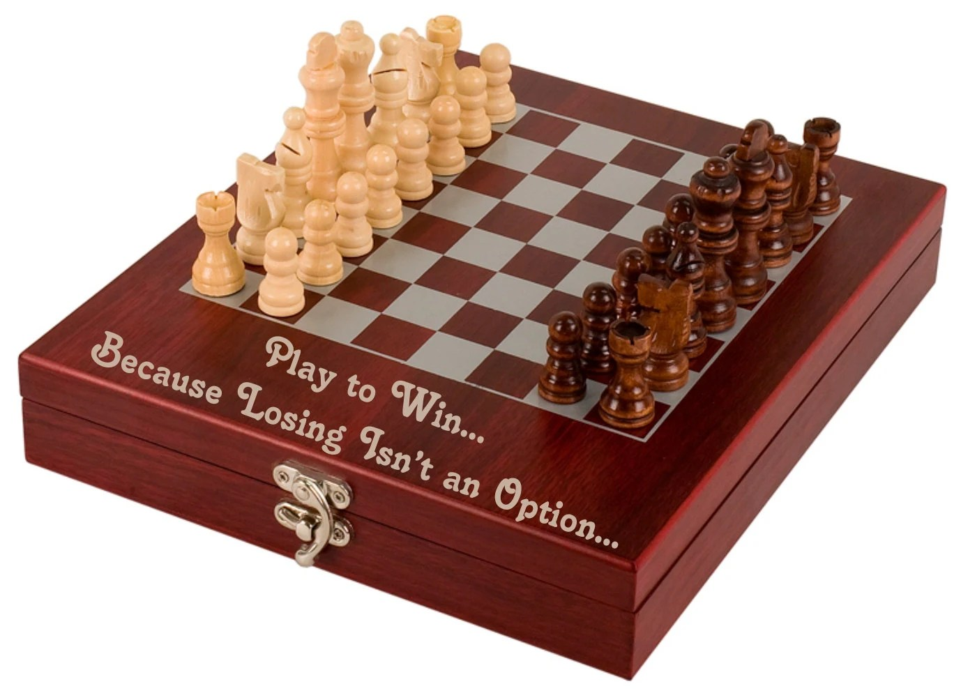 Personalized Chess Set Gift Custom Personalized Engraved Chess Set