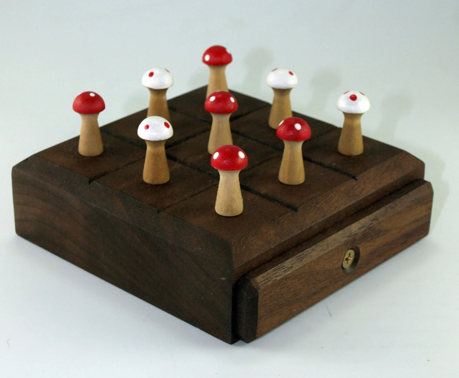 Handcrafted Games Handmade Wooden Tic Tac Toe Game By Craftedartists On Etsy