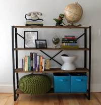 Reclaimed Wood Bookcase The Saunders